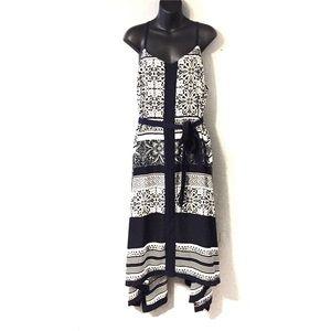 Lane Bryant Dresses - Lane Bryant Printed Handkerchief Dress